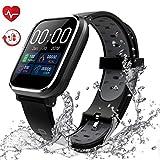 Fitness Tracker, Activity Tracker con schermo a colori da 1,3'Smart Watch impermeabile IP67 con cardiofrequenzimetro Sleep Monitor Contapassi per donne Uomini Bambini-HSBY7