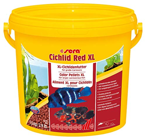sera Cichlid Red XL Nature 3.800 ml