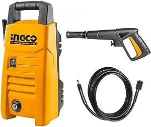 Ingco HPWR12001 High Pressure Washer, 90 Bar - 1200 Watt
