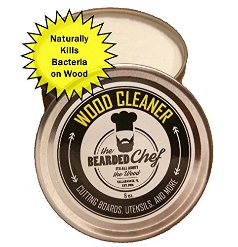 Cutting Board Cleaner - Butcher Block Cleaner - 8 Ounces - Naturally Cleans and Kills Bacteria and Germs - Made in The U.S.A. - Veteran Owned Business