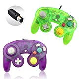 Reiso 2 Packs NGC Controllers Classic Wired Controller for Wii...