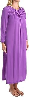 Shadowline Women's Petals 53 Inch Sleeve Long Gown