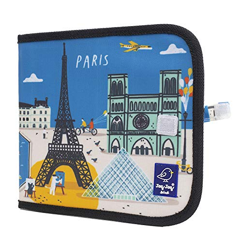 Cuaderno pizarra Cities of Wonder Paris + 4 tizas cero polvo – JAQ BIRD