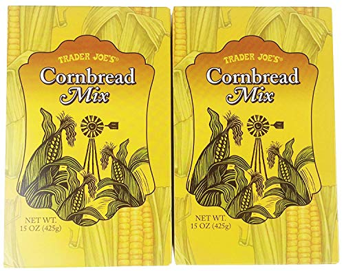 Trader Joe's Cornbread Mix (Pack of 2 - 15 oz boxes)