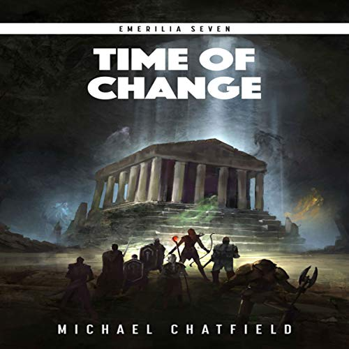 Time of Change     Emerilia, Book 7              By:                                                                                                                                 Michael Chatfield                               Narrated by:                                                                                                                                 Tristan Morris                      Length: 16 hrs and 10 mins     692 ratings     Overall 4.7