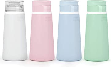 Valourgo Travel Bottles for Toiletries Tsa Approved Travel Size Containers BPA Free Leak Proof Travel Tubs Refillable Liqu...