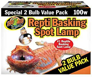 Zoo Med Basking Spot Lamp - 2 pack