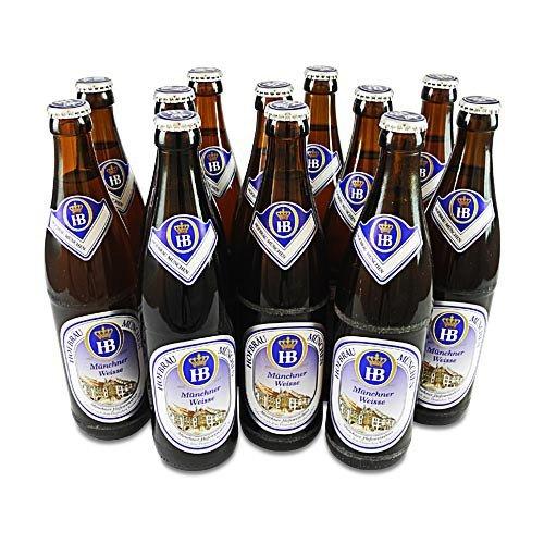 Hofbräu Münchner Weisse (12 Flaschen à 0,5 l / 5,1% vol.)