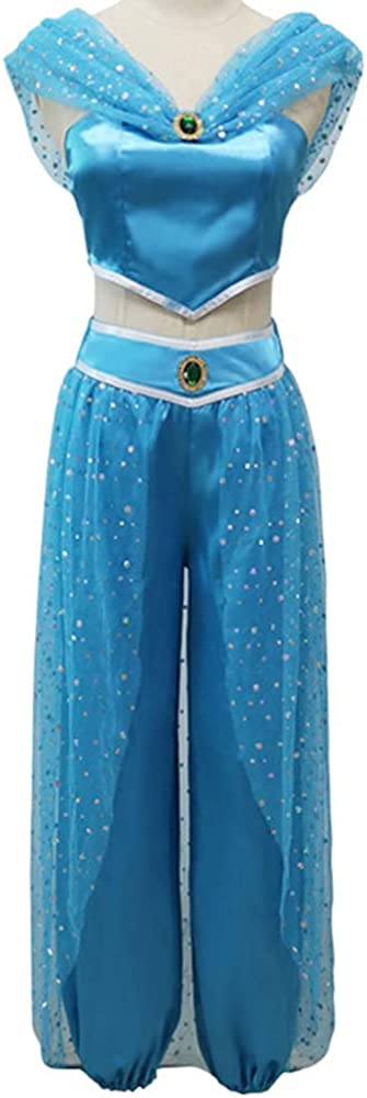 Arabian Prince Princess Cosplay Fixed price for sale Women outlet Aladdin Costume Me Jasmine