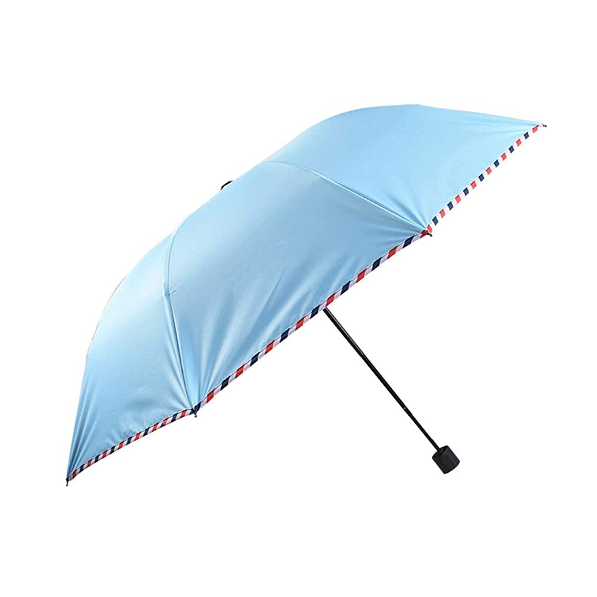 Classic Quality Windproof Handle Umbrella,Portable Lightweight Outdoor Golf Umbrella,Strengthen The Portable Windproof Frame for Men and Women (Color : Light Blue)