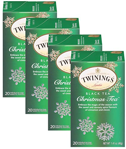 Twinings Christmas Tea - 20 count (4 PK)