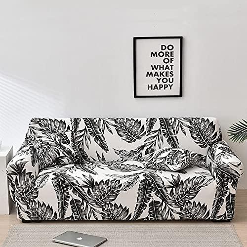 WXQY Fundas de Tela Escocesa elásticas Antideslizantes para sofá Funda de sofá para Mascotas Esquina en Forma de L Funda de sofá Antideslizante A4 4 plazas