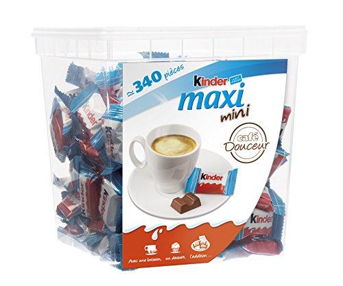 BOX KINDER MAXI MINI 340 pcs