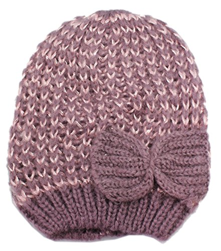 Style 101 Dull Lavender Knit Acrylic Beanie - By Ganz