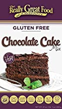 Really Great Food Company – Gluten Free Chocolate Cake Mix – 23 ounce box - No Nuts, Soy, Dairy, Eggs - Vegan, Kosher, Non-GMO and Plant Based