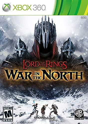 Jogo O Senhor dos Aneis Guerra do Norte - Xbox 360 Mídia