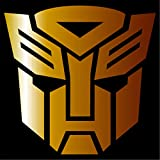 Cove Signs Autobot - Sticker/Vinyl Decal - Gold 4' - Transformers