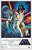 Trends International Star Wars IV One sheet Collector's Edition Wall Poster 24' x 36'
