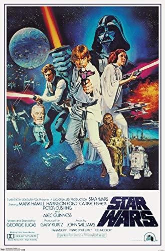 1977 Star Wars Movie Poster