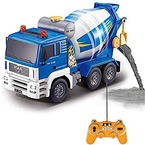 Remote Control Construction Dump Truck Remote Control Car Cement Mixer Opladen Truck RC Dump Truck Construction Toy Toy Met Licht En Geluid Pl
