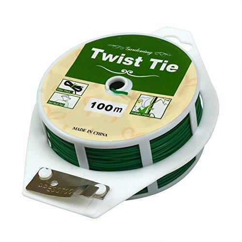 Câble vert multi-usages souple pour travaux de jardinage avec système de découpe 100M Green