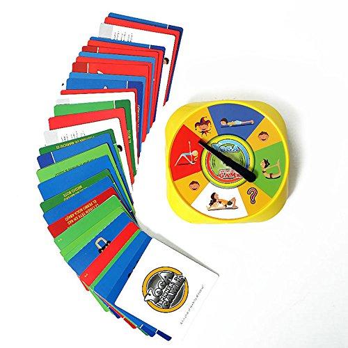 Fenghong Spinner Game, Card Spinner Game Creativo Juego de Mesa de plástico Fitness