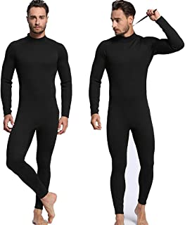 WoCoo Spearfishing Wetsuits Men 3mm Scuba Anti-UV 2-Pieces Hooded Super Stretch Diving Suit Thermal Diving Wetsuit