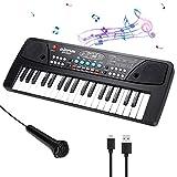 CestMall Klavier Keyboard, Digital Piano 37 Tasten Keyboard Multifunktions Musik Klaviertastatur Für Kinder Geschenk ideal für Kinder und...