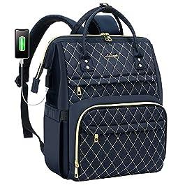 Sac à dos pour ordinateur portable pour les femmes travail sac pour ordinateur portable élégant sac à dos pour…