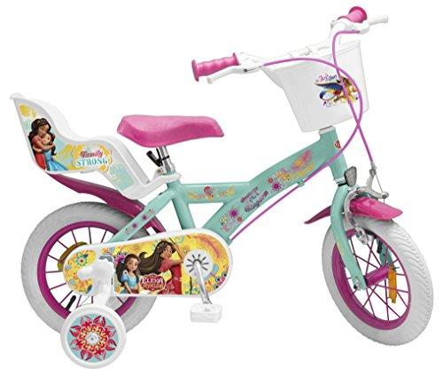 Toimsa Vélo pour Enfant sous Licence Elena d'Avalor 12 Pouce de 3 à 5 Ans, 363U