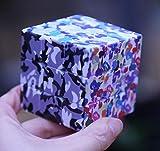 YGFS Puzzle De Tres Velocidades De Velocidad Twist Magic Cube Regalo Juguete Inteligencia De Desarrollo Color Camuflaje Personalidad UV Print Cube
