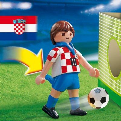 PLAYMOBIL® 4723 - Fußballspieler Kroatien
