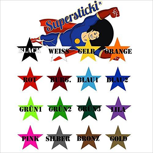 SUPERSTICKI® wiskunde klok 60x60 Muurtattoo Stickers Decal van SUPERSTICKI® hoogwaardige folie voor alle gladde oppervlakken UV- en wasstraatbestendig professionele kwaliteit