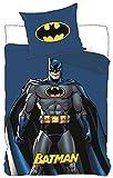 DC Batman Bettwäsche Kinder Bettwäsche 140x200 cm (un100)