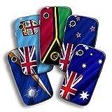 atFolix Designfolie kompatibel mit Wiko Ozzy, wähle Dein Lieblings-Design aus, Skin Aufkleber (Flaggen aus Australien & Ozeanien)