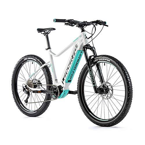 Fahrrad Electrique-Vae Mountainbike Leader Fox 27 Weiß Matt / Grün