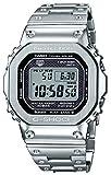 [カシオ] 腕時計 ジーショック Bluetooth 搭載 電波ソーラー GMW-B5000D-1JF メンズ シルバー