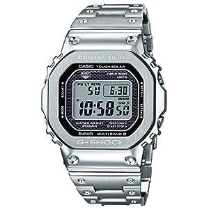 """[カシオ] 腕時計 ジーショック Bluetooth 搭載 電波ソーラー GMW-B5000D-1JF メンズ シルバー"""""""