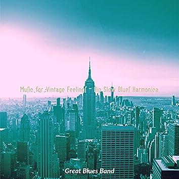 Music for Vintage Feelings - Hip Slow Blues Harmonica