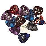 Fender Premium Picks Sampler - 12 Pack Includes Thin, Medium & Heavy Gauges (Austin Bazaar Exclusive)