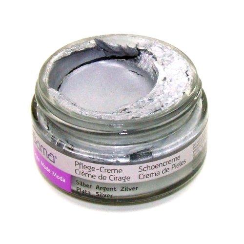 Bama Pflege-Creme Schuhcreme für Glattleder in vielen Farben (Silber)