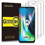QULLOO Protector de Pantalla para Motorola Moto G9 Play/Moto G10 / Moto G30, Cristal Templado [9H Dureza] [Anti-Huella] para Moto G9 Play/Moto G10 / Moto G30-2 Piezas