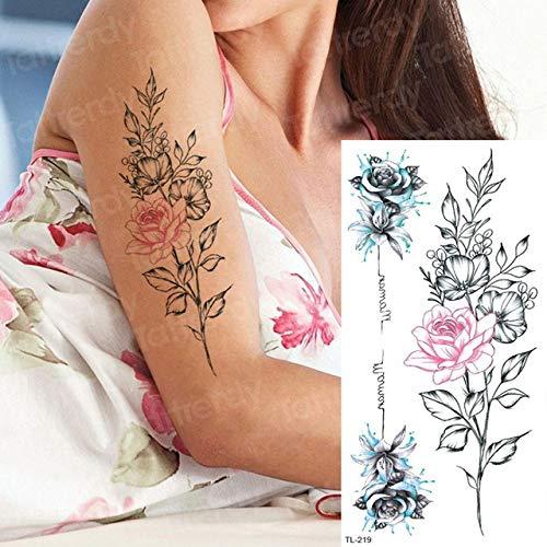4 Unids, Tatuaje Manga Mujeres Tatuajes Temporales Pegatinas Tatuajes Corporales Anime Búho Unicornio Atrapasueños Tatuaje Agua Falsa Niños Tatuaje Tigre, Tl219