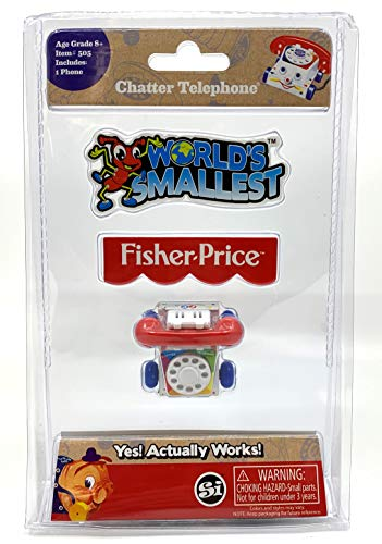 Price comparison product image World's Smallest Fisher Price Classic Chatter Phone