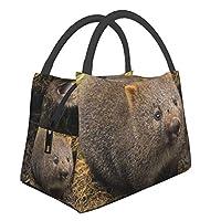 クレイドルマウンテンウォンバット Mouse おしゃれ ランチバッグ 保温 保冷 断熱バッグ 大容量 多機能 お弁当袋 持ち運びに便利 通勤 旅行ピクニックバッグ 男女兼用 手提げ袋