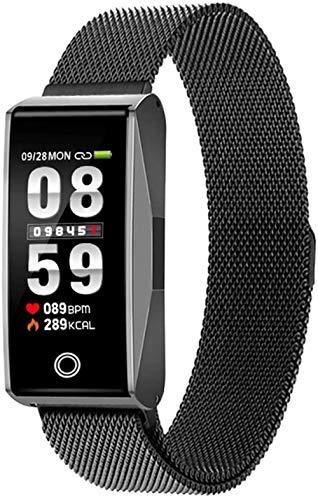 JSL Reloj inteligente con Bluetooth y rastreador de actividad, soporte deportivo, contador de calorías, contador de calorías, monitor de sueño, resistente al agua, para mujeres