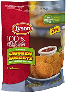 Tyson Fully Cooked Chicken Nuggets, 32 oz. (Frozen)