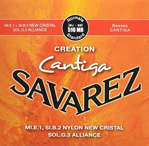 Savarez Creation Cantiga 510MR Jeu de Cordes pour Guitare classique