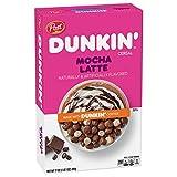 Post, Breakfast Coffee Cereal, Dunkin, Mocha Latte, 17oz