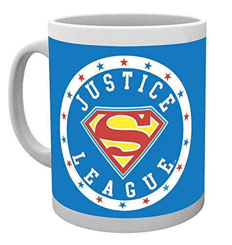 GB Eye, DC Comics, Superman, Ligue de Justice, Mug